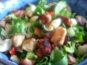 Protein & Carb Salad