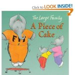 large family: a piece of cake